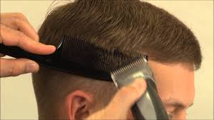 how to cut a side part into a haircut side part haircut youtube