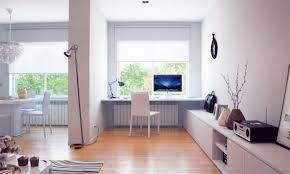 Home Office Furniture Modern Home Office Design With White Wall Painted Interior Color