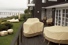 Outdoor Covers For Patio Furniture Amazon Com Classic Accessories Veranda Air Conditioner Cover