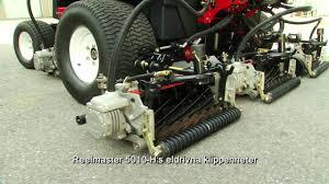 toro reelmaster 5010 h maintenance and efficiency swedish