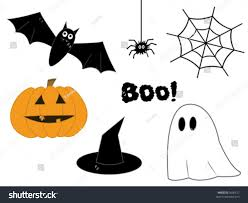bats images clip art halloween clipart pumpkin bat spider web stock vector 5606617