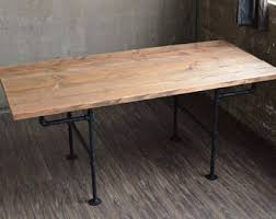 Rustic Modern Dining Room Tables by Rustic Dining Table Etsy