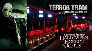 is halloween horror nights worth it terror tram survive the purge haunted house walkthrough halloween