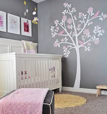 tree wall decals rose tree from apartment therapy gray grey