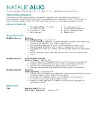 Administration CV template examples Rufoot Resumes  Esay  and Templates