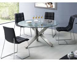 Dining Room Sets With Round Tables Modern Dining Set Round Glass Top Table European Design 33d231