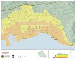 Map Of Waikiki O U0027ahu Residents Invited To View New Extreme Tsunami Evacuation