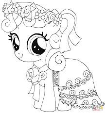 little pony coloring pages free printable my little pony coloring