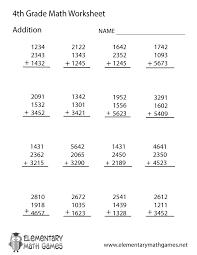 Decimal Addition Worksheets Fourth Grade Addition Worksheet Printable Kelpies