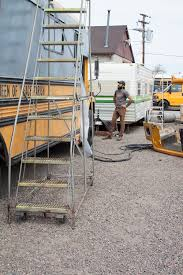 spray foam insulation bus conversion denver colorado charles