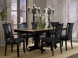 dinette furniture dining sets glass top table dark wood coffee 67