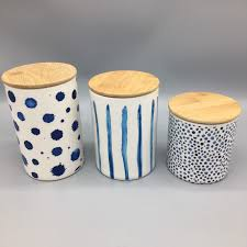 Pottery Canisters Kitchen 57 Jpg