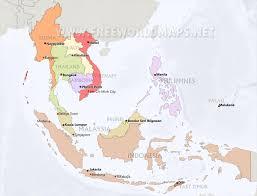 Southeast Map Southeast Asia Maps