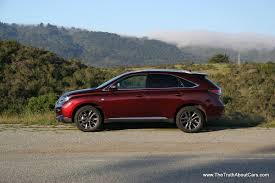 lexus mobiles india review 2013 lexus rx 350 f sport video the truth about cars