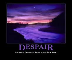 Further thoughts about despair