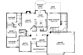 contemporary ranch house floor plans open plan to inspiration