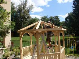 Custom Gazebo Kits by Edmonton Amish Built Gazebo Kits U0026 Amish Built Pergola Kits