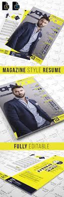 Magazine Style Resume