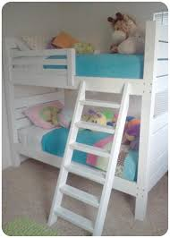 Ana White Side Street Bunk Beds Modified Ladder DIY Projects - Ladder for bunk bed