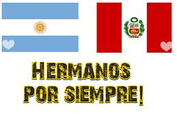 Vamos Perú! En Argentina estamos con uds