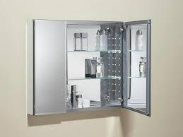 furniture distinguishing recessed medicine cabinet mirror and