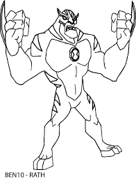 ben 10 colouring sheets ben 10 colouring pages big chill