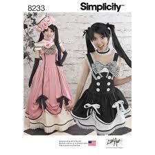 pattern witch costume simplicity pattern 8233 misses u0027 cosplay costumes