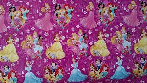 amazon com disney princess wrapping paper christmas gift wrap 1