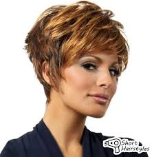 short curly hairstyles for fine hair over