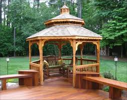 Custom Gazebo Kits by Cedar Gazebo Kits Blitz Host