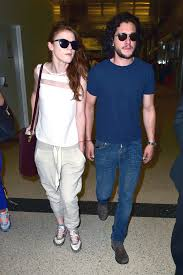 Game of Thrones Co Stars Kit Harington and Rose Leslie Spark     Financial News USA Kit Harington  Rose Leslie