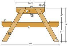 Free Wooden Picnic Table Plans by How To Build A Picnic Table With Attached Benches Picnic Tables
