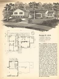 Split Level Home Designs Vintage House Plans Mid Century Homes Split Level Homes House