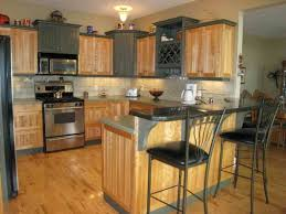 Paint Colors For Kitchen Walls With Oak Cabinets White Subway Tile Backsplash African Mahogany Wood Cabinets Light