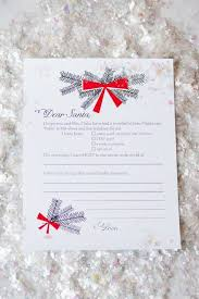 Christmas Wish List Template  inspired by fabric  holiday gift       christmas