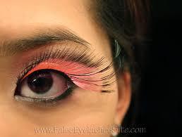 how to wear color lashes false eyelashes blog