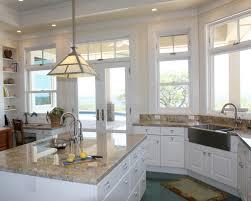 kitchen off white kitchen cabinets with white kitchen granite