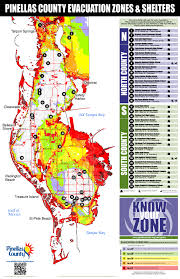 Palm Island Florida Map by Pinellas County Florida Emergency Management Know Your Zone