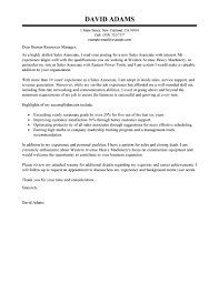 Cover Letter For Sales Associate   My Document Blog Sales Associate Cover Letter Examples Customer Service Cover Letter for Cover Letter For Sales Associate