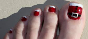 30 best and easy christmas toe nail designs christmas toes toe