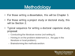 An Introduction to Writing the Methodology Chapter Section With