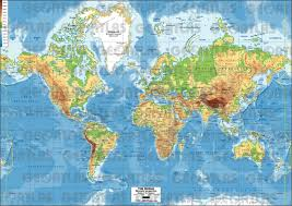 Peters Projection World Map by Only Maybe February 2012