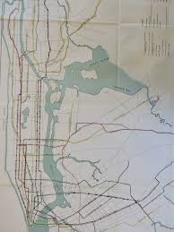 Subway Nyc Map by This 1927 City Subway Map Shows Early Transit Plans 6sqft