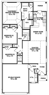 5 bedroom one story house plans