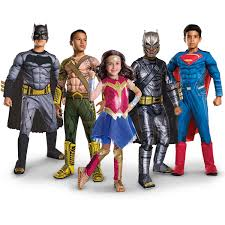 Kids Halloween Costumes Usa Batman Vs Superman Dawn Of Justice Deluxe Wonder Woman Child