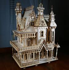 victorian doll house birch plywood laser cut kit i u0027ve build two of