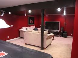 Black Ceiling Basement by 44 Best Black Red Rooms Images On Pinterest Red Rooms Basement