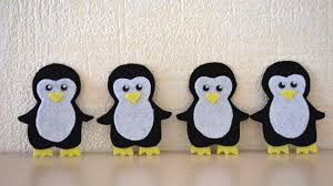 how to make cute and fun felt penguins diy crafts tutorial