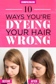 Shampoo For Black Colored Hair 10 Ways You U0027re Dyeing Your Hair Wrong