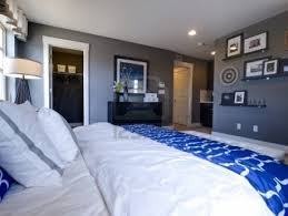 Navy Blue Wall Bedroom Amazing Blue Bedroom Walls For Your Home Interior Design Ideas